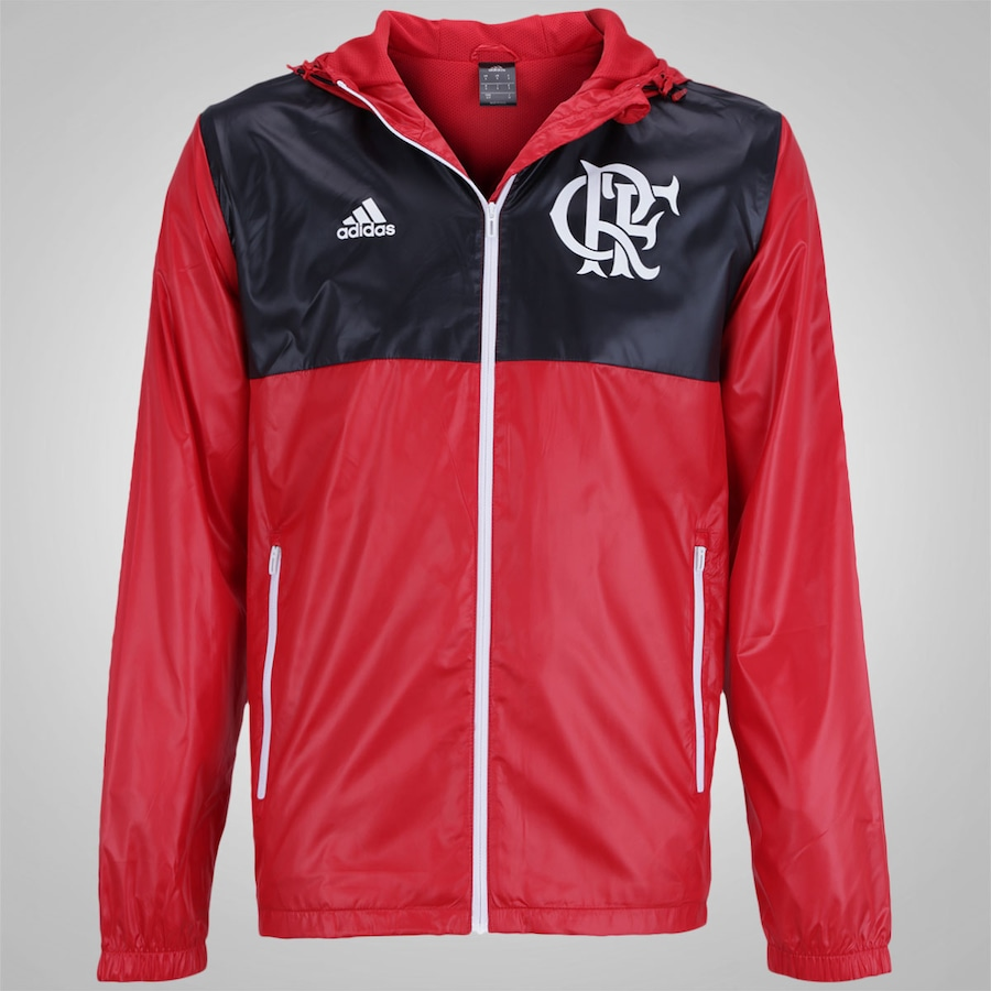 Jaqueta do Flamengo adidas Windbreaker - Masculina 3a1fe1a696061