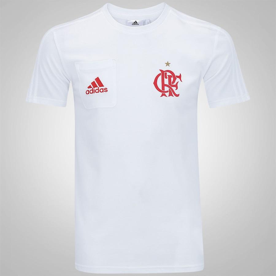 Camiseta do Flamengo Viagem adidas - Masculina daefb3264dea8