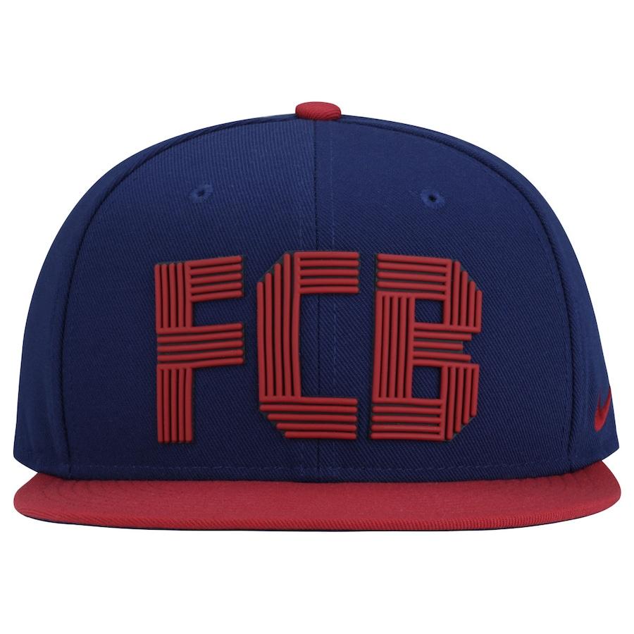 796a00fab6532 Boné Aba Reta Nike Barcelona Squad - Snapback - Adulto