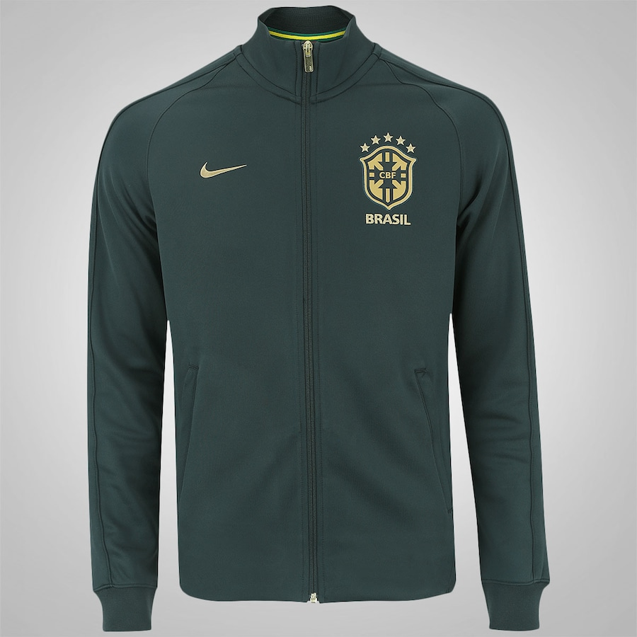 Jaqueta do Brasil Nike N98 - Masculina b1d1be2dcad51