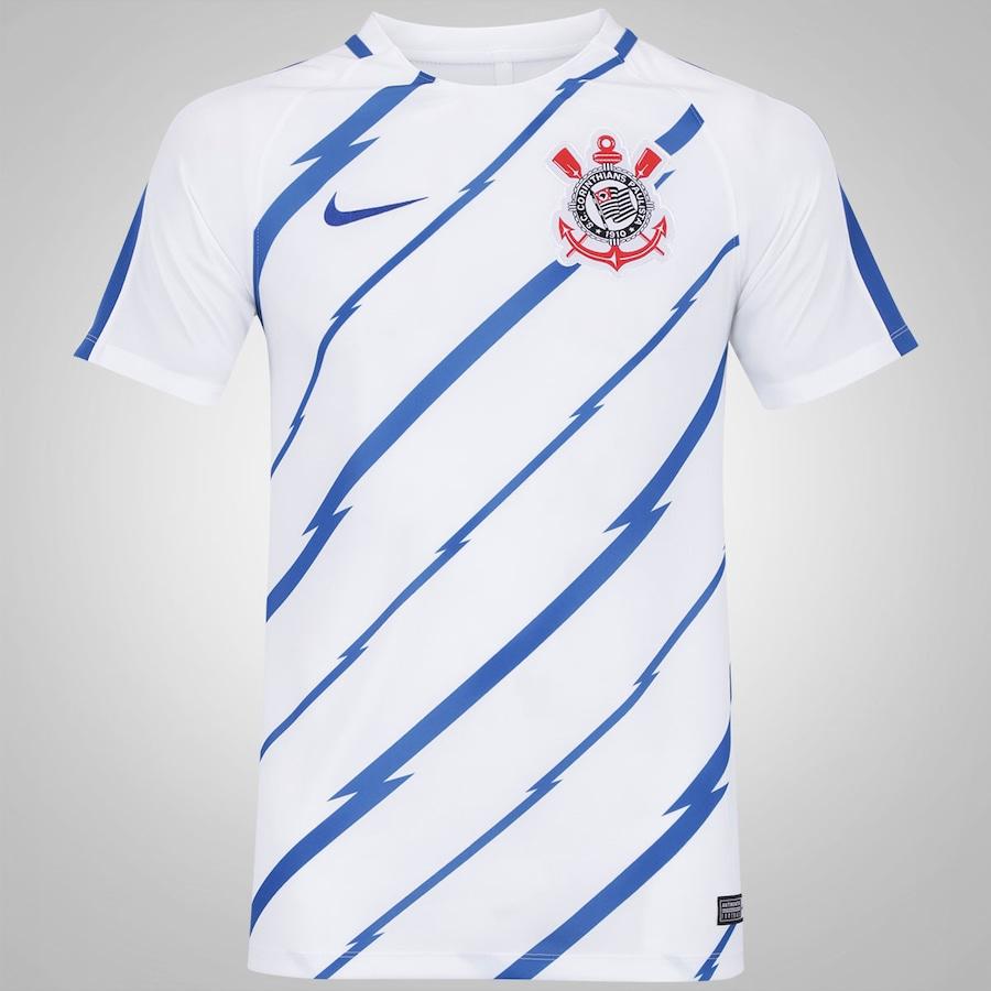 Camisa Pré-Jogo do Corinthians 2017 - Masculina 08b473f87106b