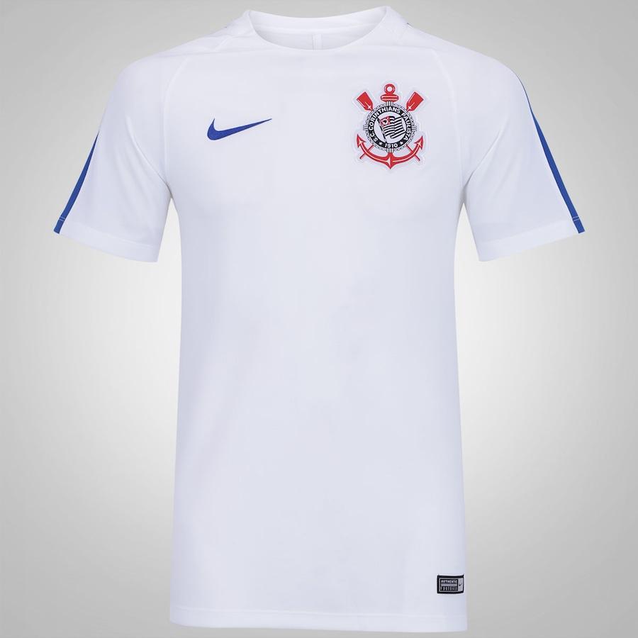 5a05a15446 Camisa de Treino do Corinthians 2017 Nike - Masculina