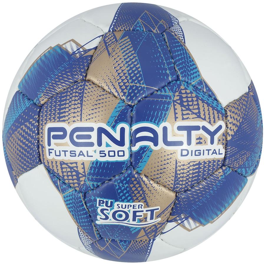 1aad3e84016a4 Bola de Futsal Penalty Digital 500 CC VII