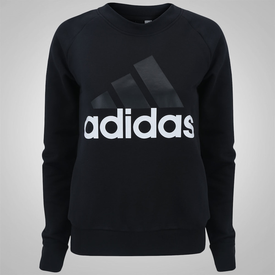 a27157d9e74 Blusão de Moletom adidas Essentials Linear Sweat - Feminino