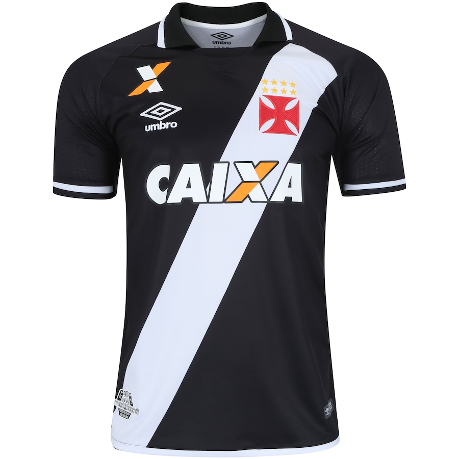 a7b05091b5 Camisa do Vasco da Gama I 2017 nº 10 Umbro - Masculina