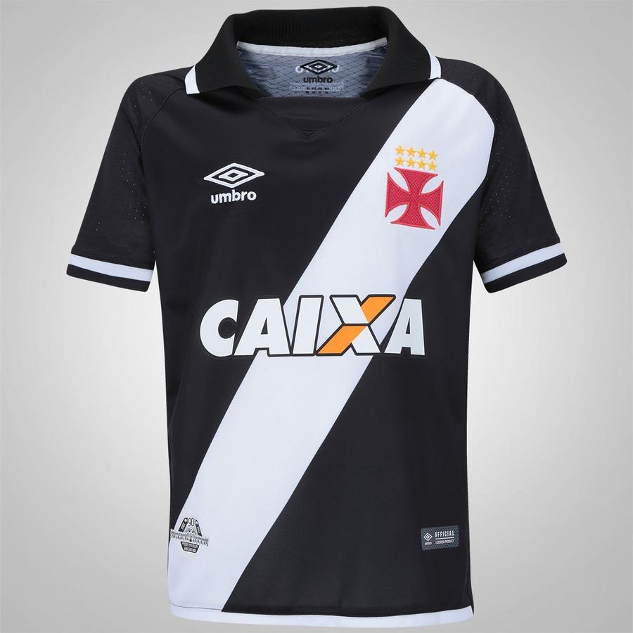Camisa do Vasco da Gama I 2017 nº 10 Umbro - Infantil 3e293901f4837