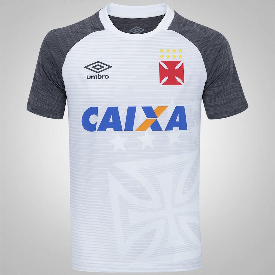 Camisa de Aquecimento do Vasco da Gama 2017 Umbro 3ed31d610103b