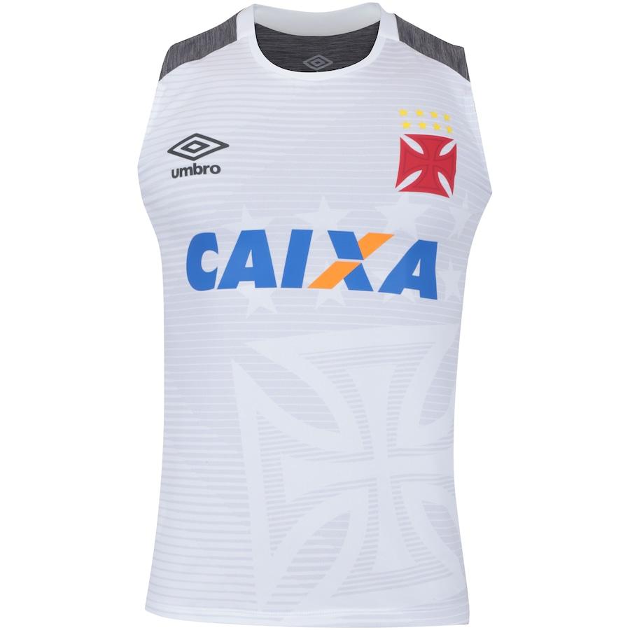 Camiseta Regata do Vasco da Gama Aquecimento 2017 Umbro - Masculina 8e6ea999f2bdc