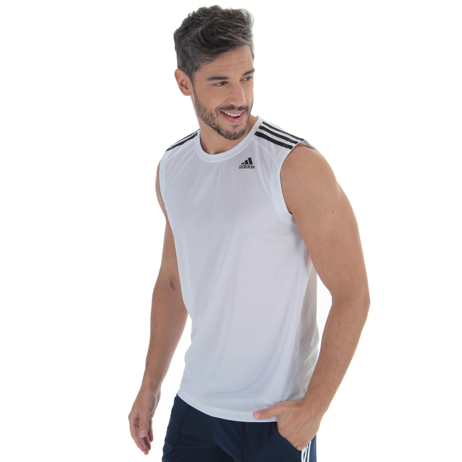 de7df31cc Camiseta Regata adidas D2M 3S - Masculina