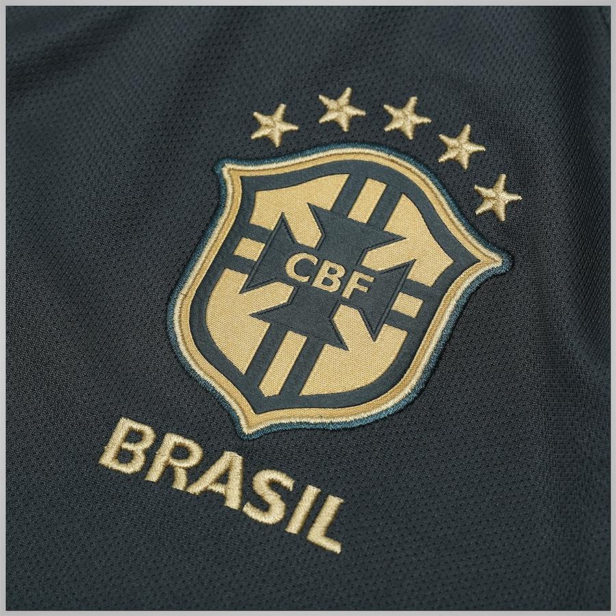 ... Masculina ba5e42e7f23232  camisa do brasil iii 2018 19 nike oficial  jogador s n +frete. Carregando zoom. c97f3ae6de573