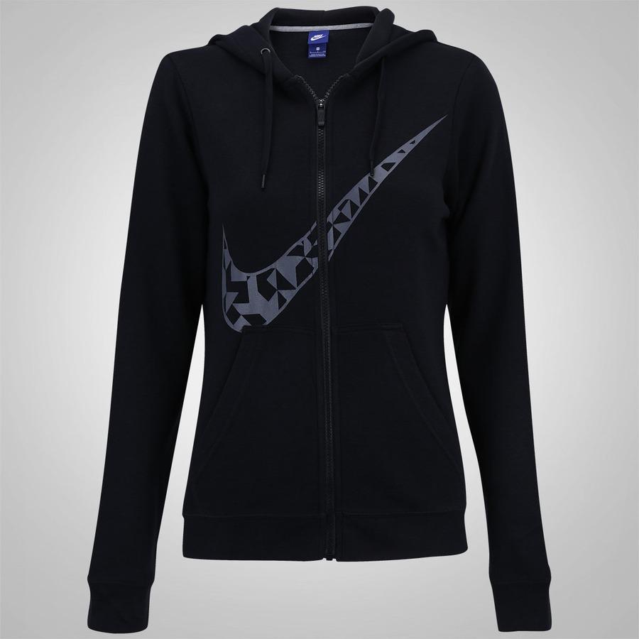d0d94dc12bd Jaqueta de Moletom com Capuz Nike Hoodie FZ GX Tangrams