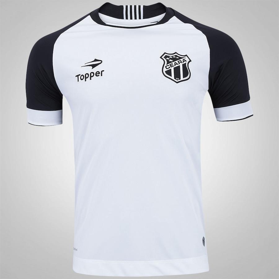 7b071c7a414 Camisa do Ceará II 2016 nº 10 Topper - Masculina