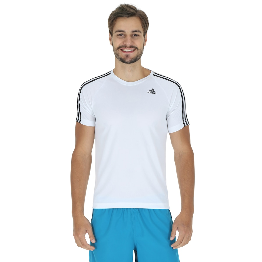 Camiseta adidas D2M 3S - Masculina 58c8d0758e