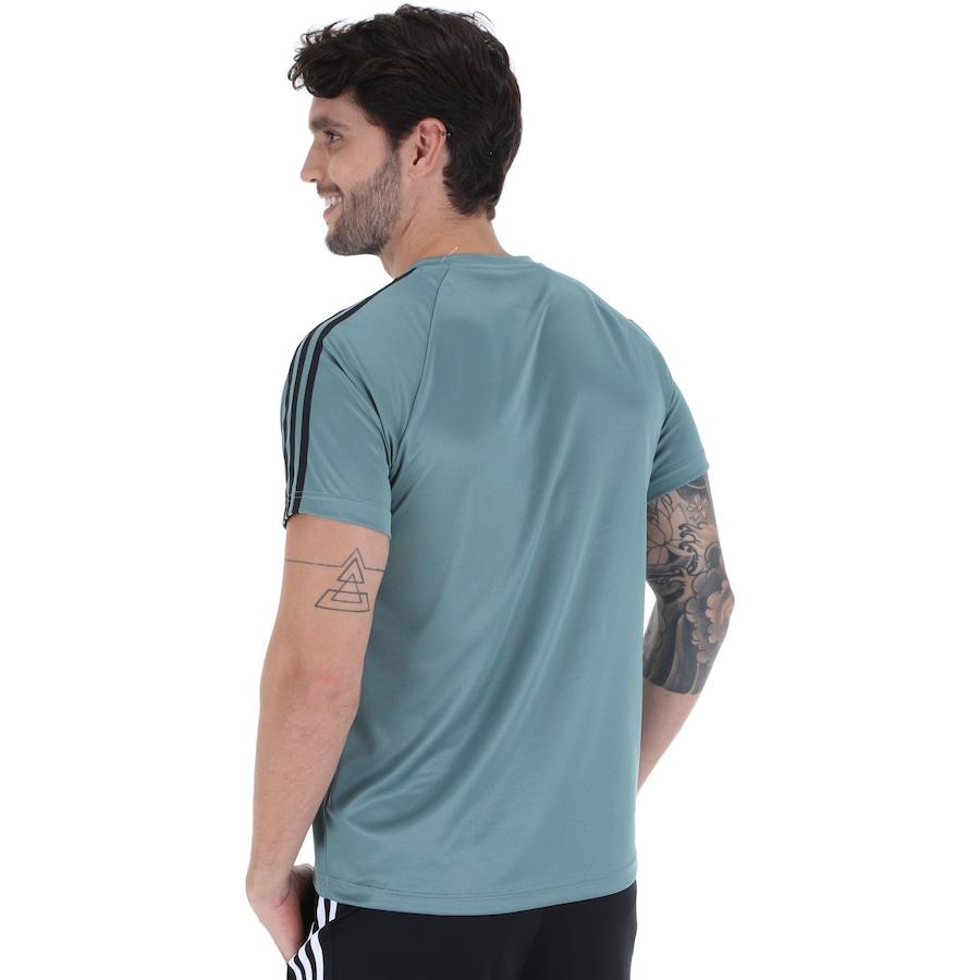 Camiseta adidas D2M 3S - Masculina a79f85d7b5