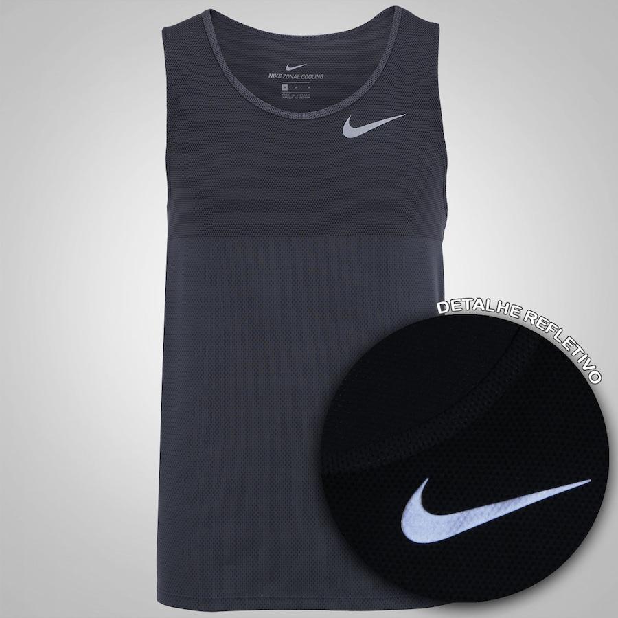 44276fa4a8 ... Camiseta Regata Nike Zonal Cooling Relay Running - Masculina