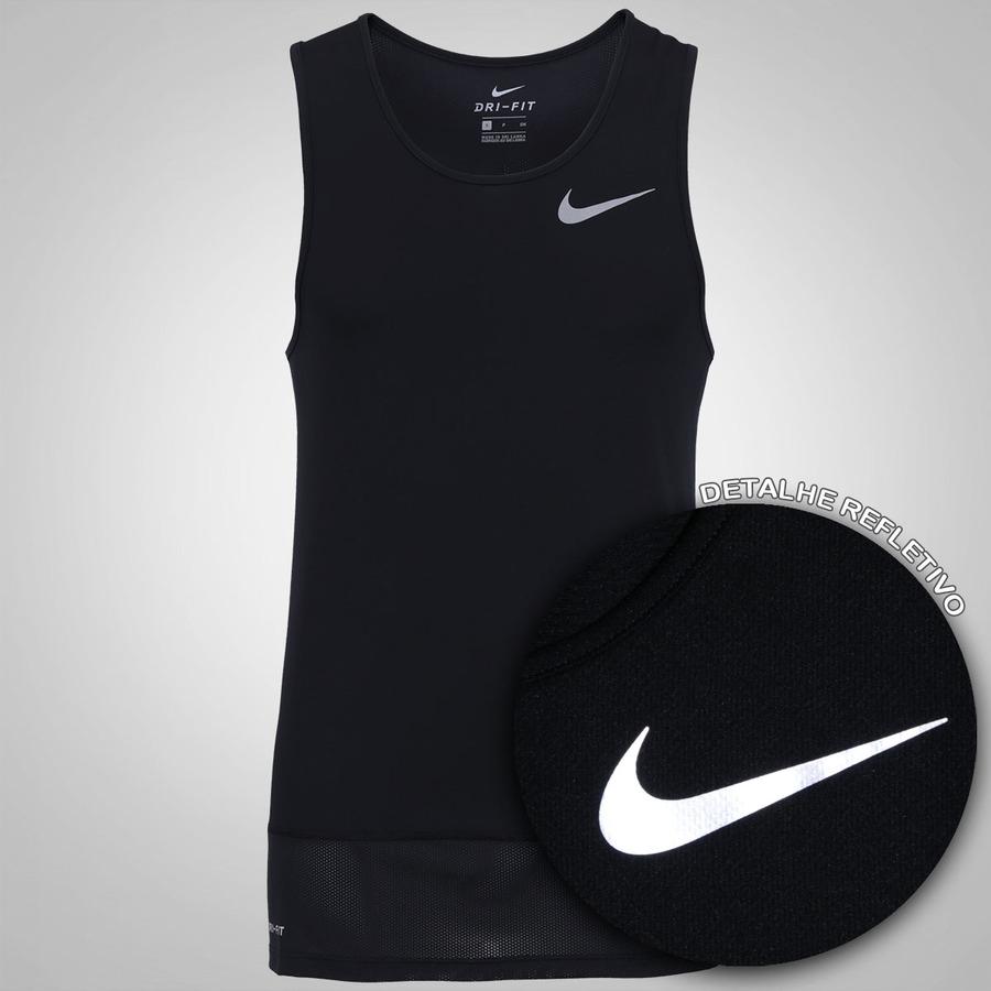62f9ccfbcf Camiseta Regata Nike Breathe Rapid - Masculina