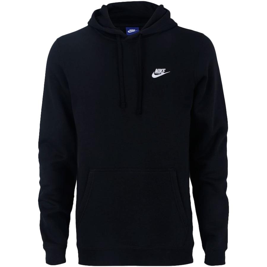d76a006f4fd Blusão de Moletom com Capuz Nike Hoodie PO FLC Club - Masculino