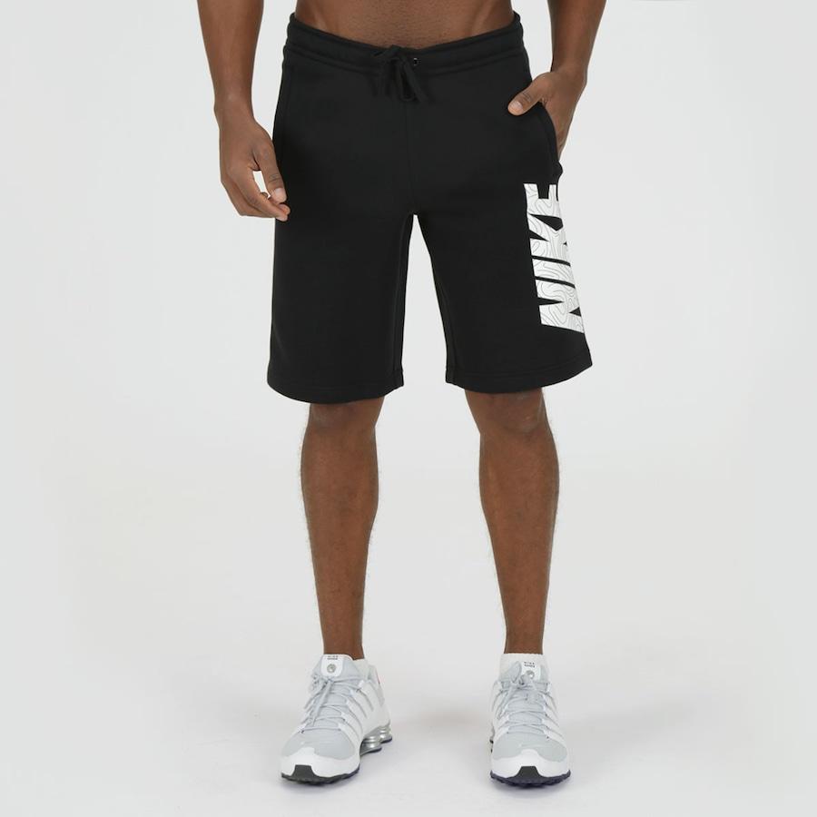Bermuda de Moletom Nike FLC GX - Masculina 14396b7378c