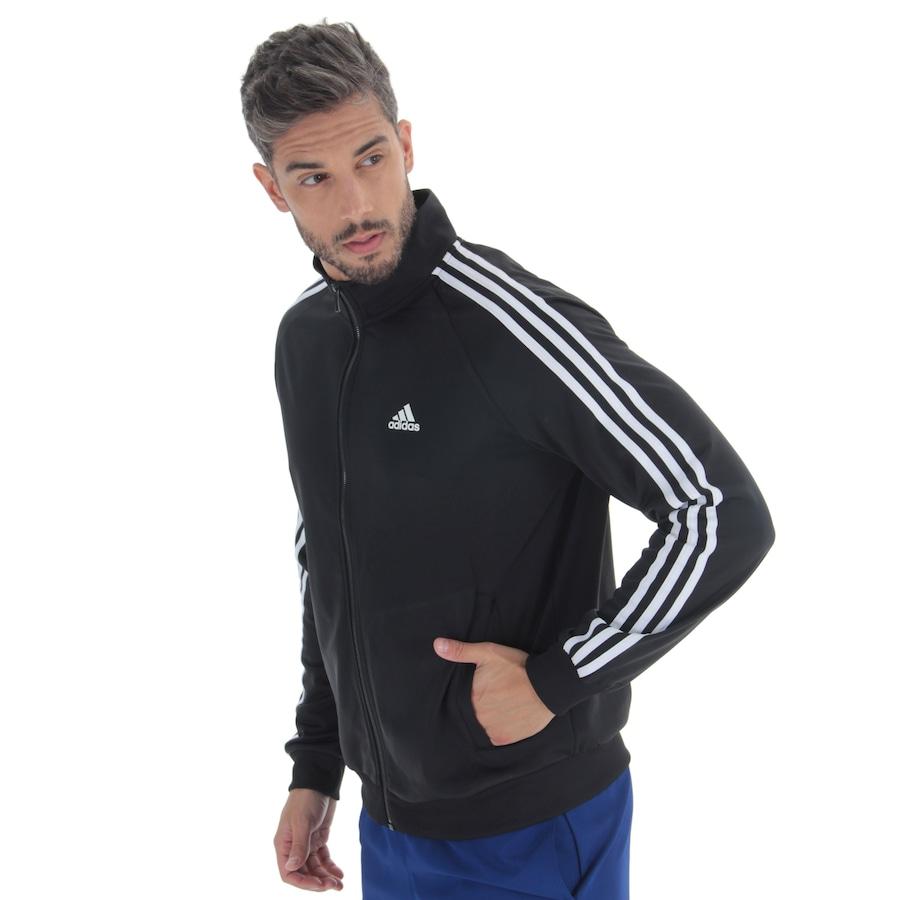 adc20fc7a Jaqueta adidas Essentials 3S Top - Masculina