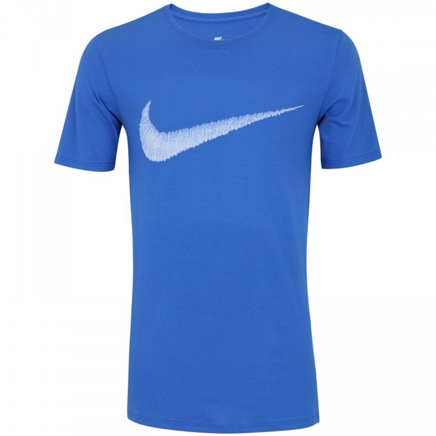 7a9d852f38641 Camiseta Nike Hangtag Swoosh - Masculina
