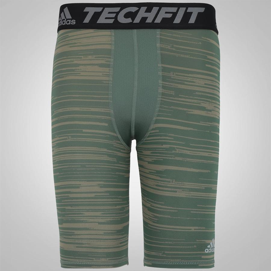 ... Bermuda de Compressão adidas Techfit Base GFX ST - Masculina ... 2d638b1ddea04