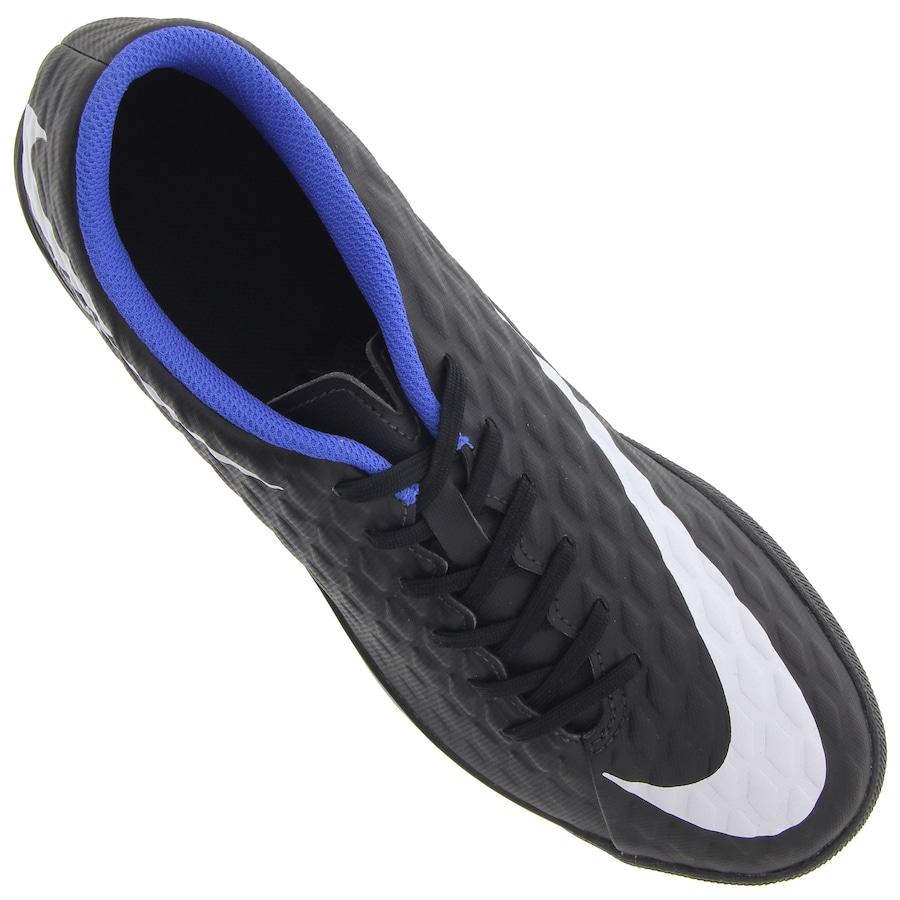 Chuteira Society Nike Hypervenom X Phade III TF - Adulto 81ba452998d0e