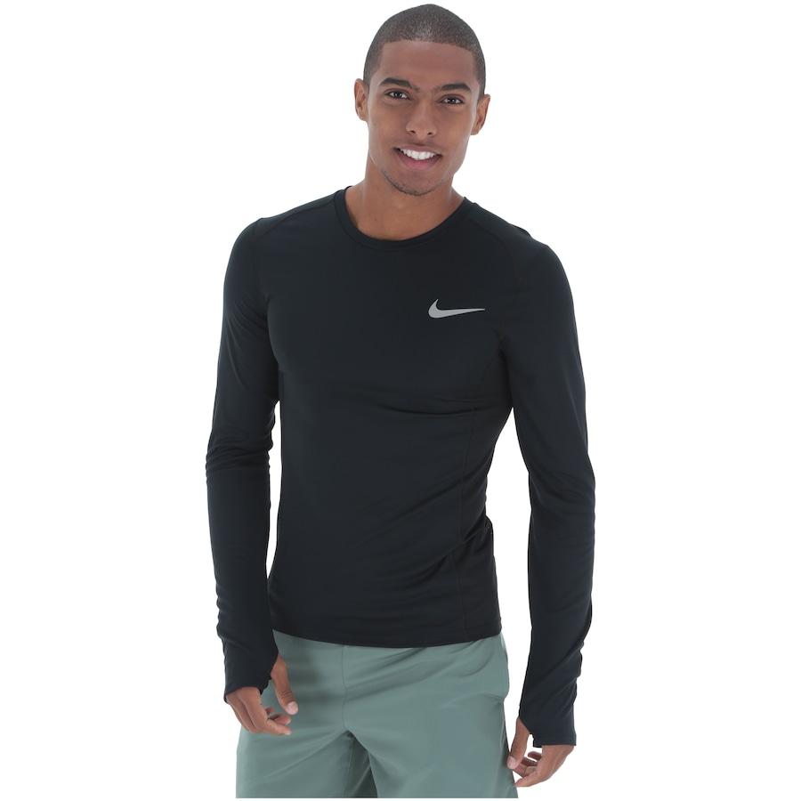 Camiseta Manga Longa Nike Dry Miler Top - Masculina 716709075f93f