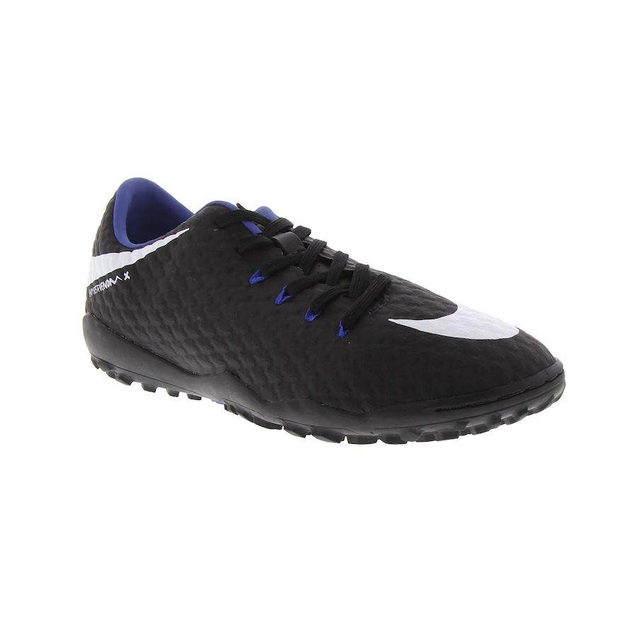 8c5f403f5a Chuteira Society Nike Hypervenom X Phelon III TF - Adulto