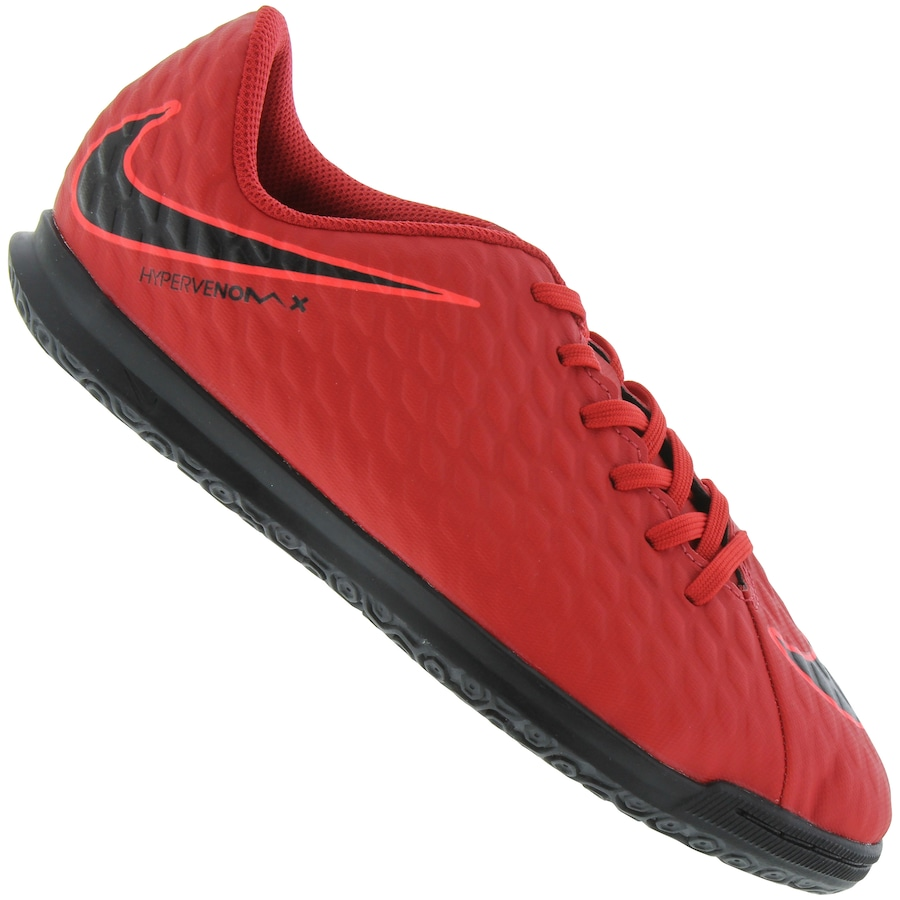 55daaef7b0596 Chuteira Futsal Nike Hypervenom X Phade III IC - Infantil
