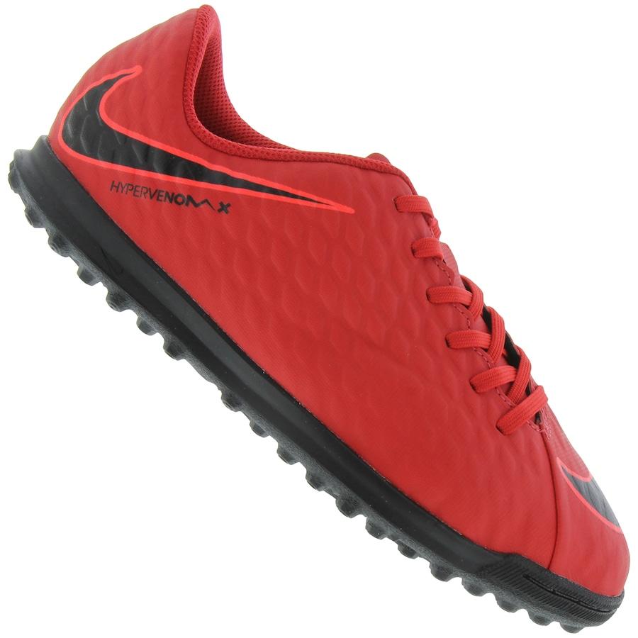0598adbe00 Chuteira Society Nike Hypervenom X Phade III TF - Infantil