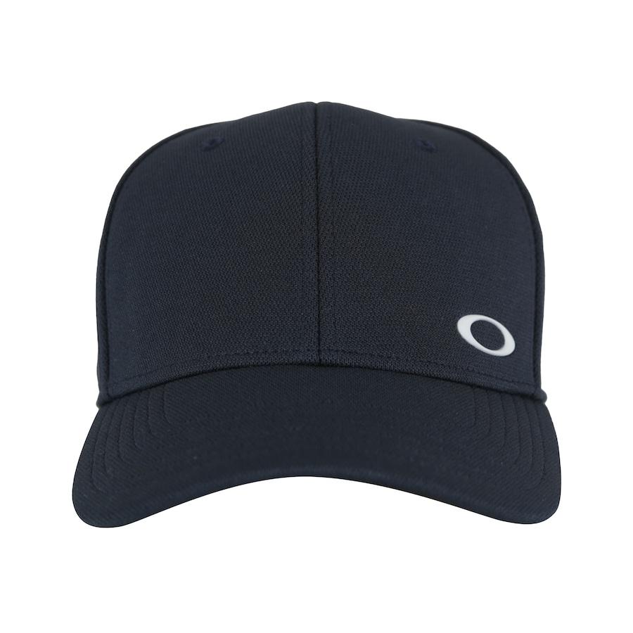 Boné Aba Curva Oakley Silicon Ellipse - Fechado - Adulto 1c70101a4ce9c