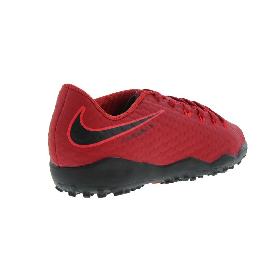 Chuteira Society Nike Hypervenom X Phelon III TF - Infantil 36d3a251117b1