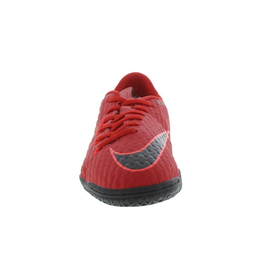 Chuteira Futsal Nike Hypervenom X Phelon III IC - Infantil 73a4235f4d3ea