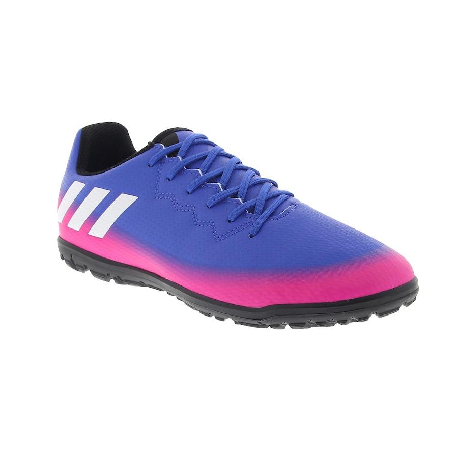 Chuteira Society adidas Messi 16.3 TF - Infantil b77397d4193ac