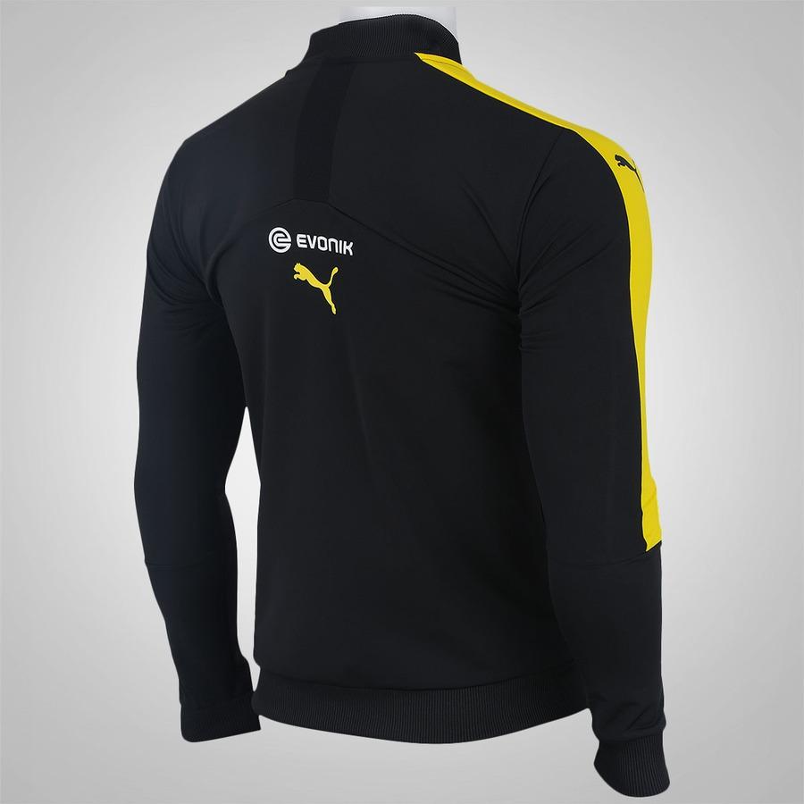 b68c127be5fe24 Jaqueta Borussia Dortmund Puma - Masculina