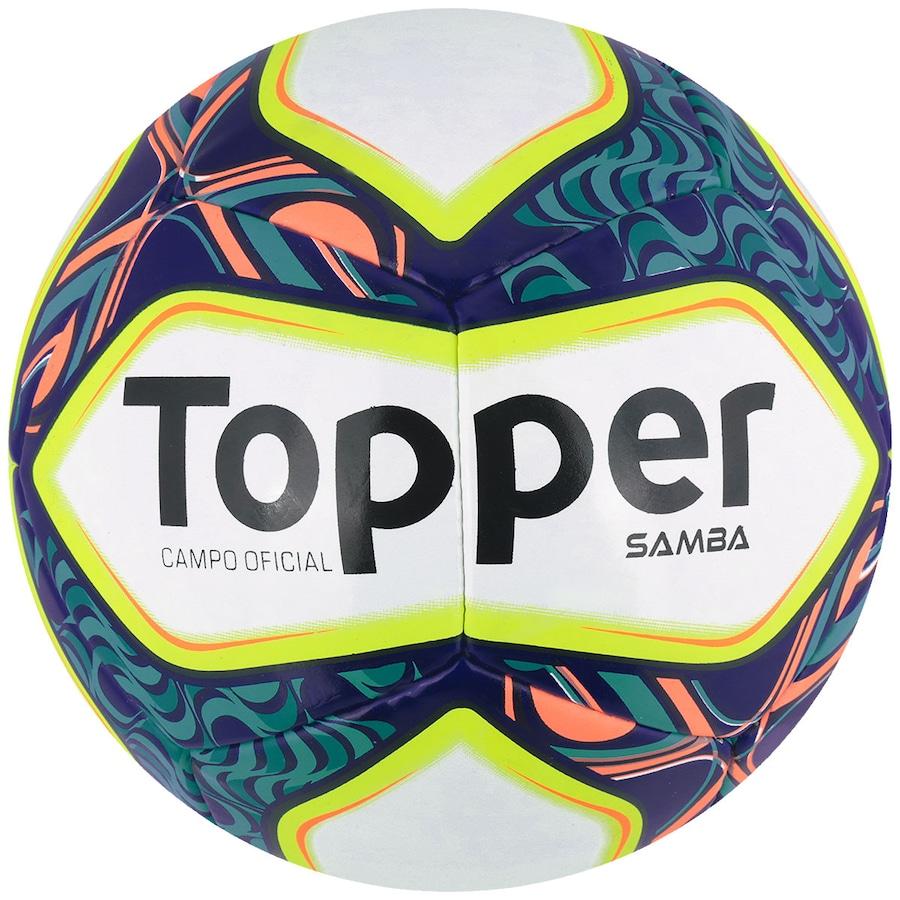 f998e4db98874 Bola de Futebol de Campo Topper Samba II
