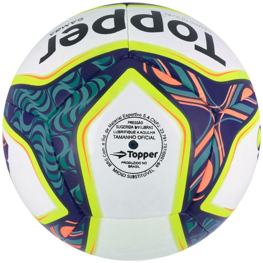 Bola de Futebol de Campo Topper Samba II 51898d36d9886