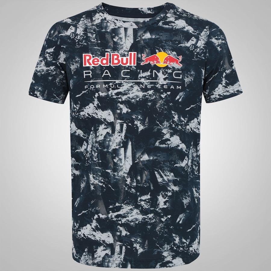 Camiseta Puma Red Bull Racing Allover - Masculina b0e59674357