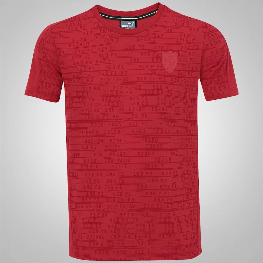 Camiseta Puma Scuderia Ferrari Summer - Masculina fbded5aced31f