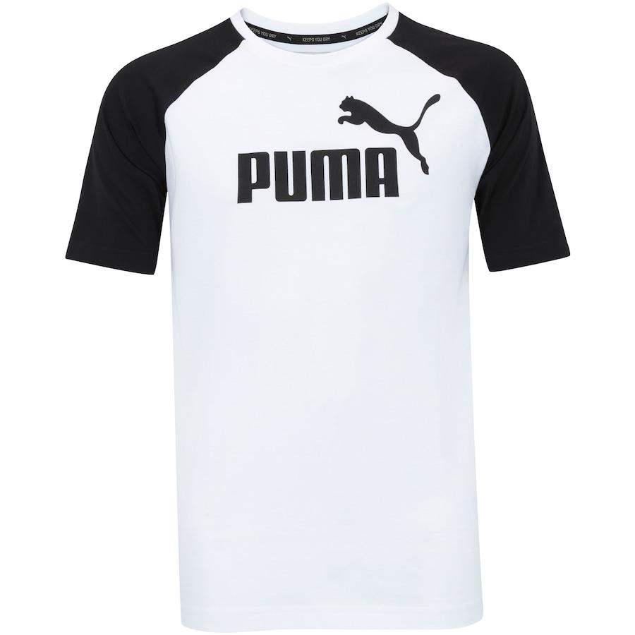 3b2699dd28 Camiseta Puma Ess No.1 Logo Raglan - Masculina