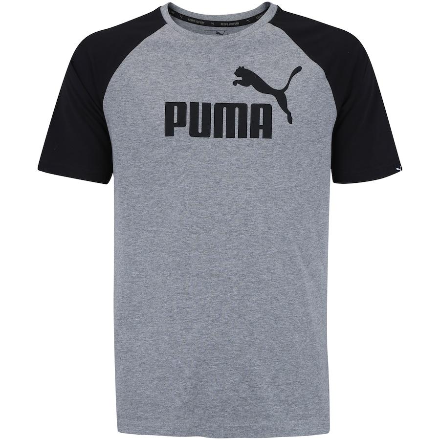 3fccdf048f Camiseta Puma Ess No.1 Logo Raglan - Masculina