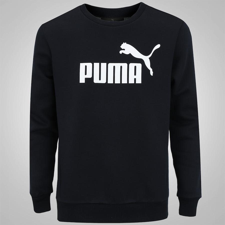 Blusão de Moletom Puma Ess No.1 Crew Sweat FL - Masculino 91806487818c0
