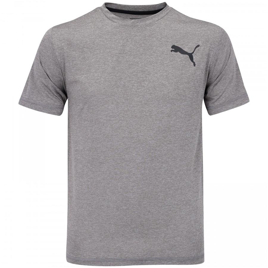 7f8c084ac632c Camiseta Puma Essential Puretech Heather - Masculina
