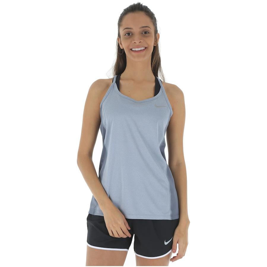Camiseta Regata Nike Dry Miler - Feminina ef7ae585a8d4e