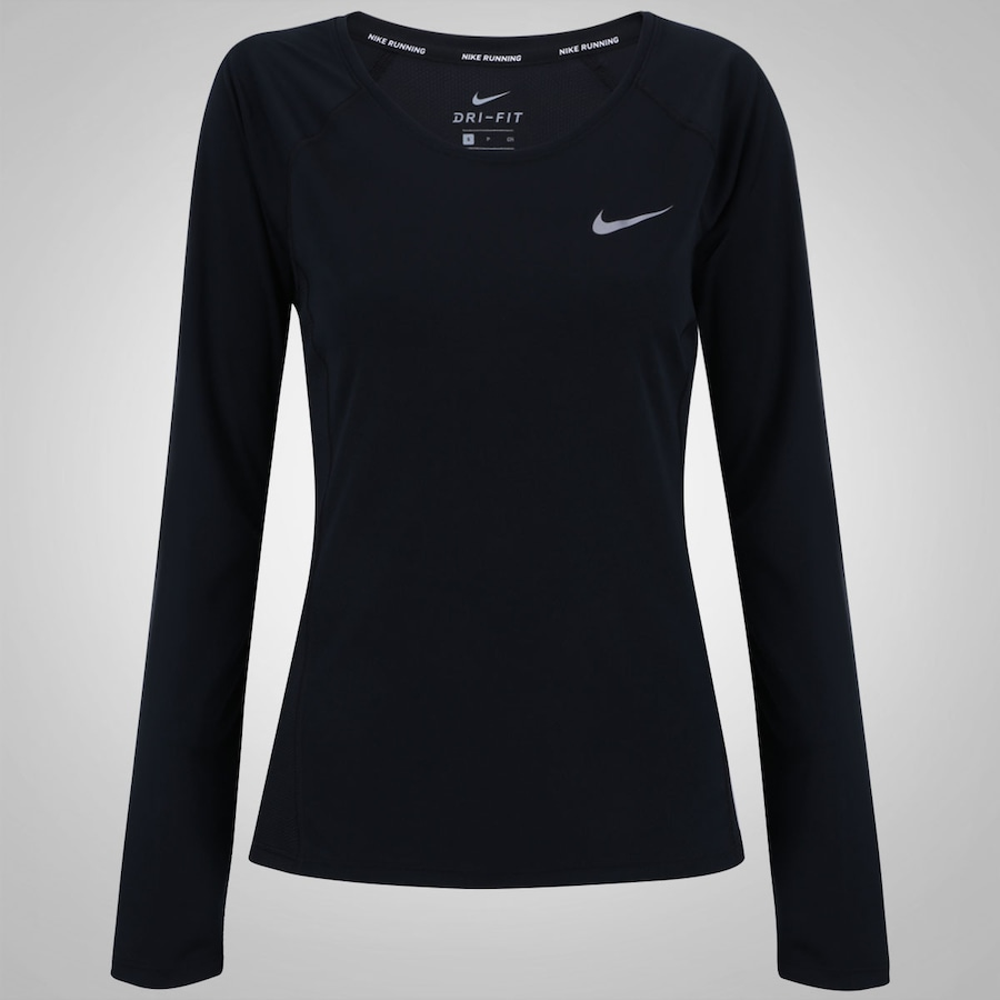 Camiseta Manga Longa Nike Dry Miler Top - Feminina ab5a0f92d37