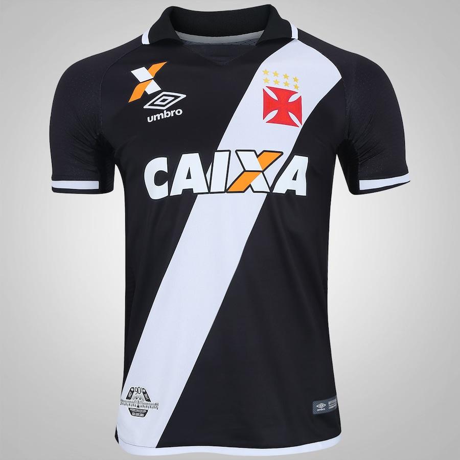 Camisa do Vasco da Gama I 2017 Umbro - Jogador bdce6a5e0b841
