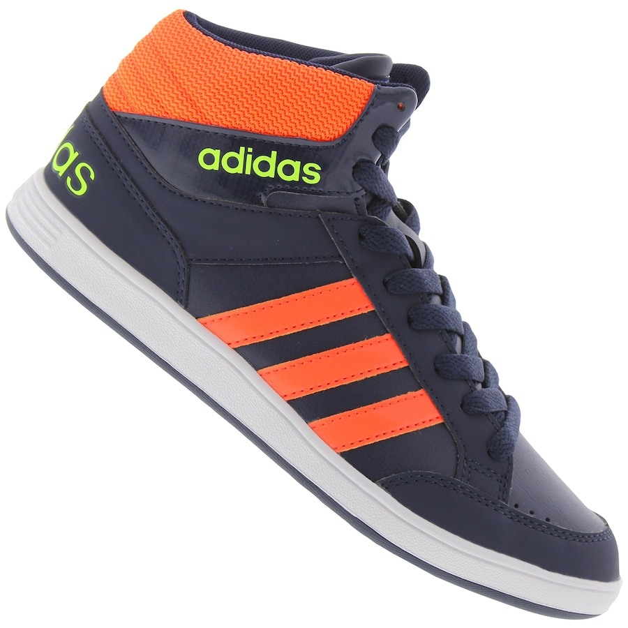Tênis Cano Alto adidas Neo Hoops Mid K - Infantil 7ef1fbcc9ccf2