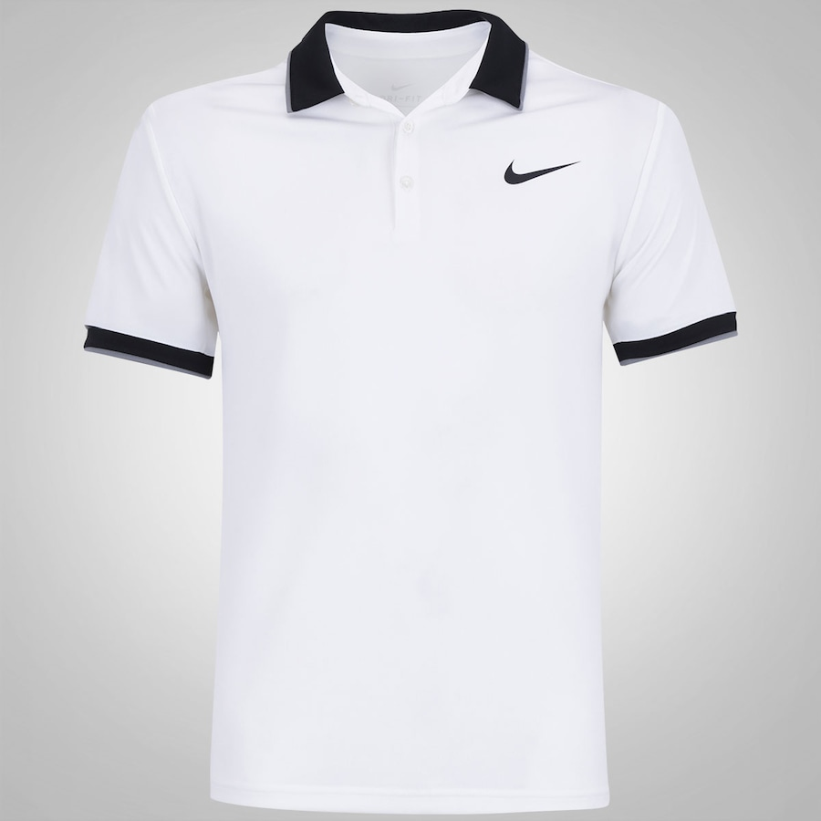 Camisa Team Dry Court Nike Polo Masculina 8q648wr