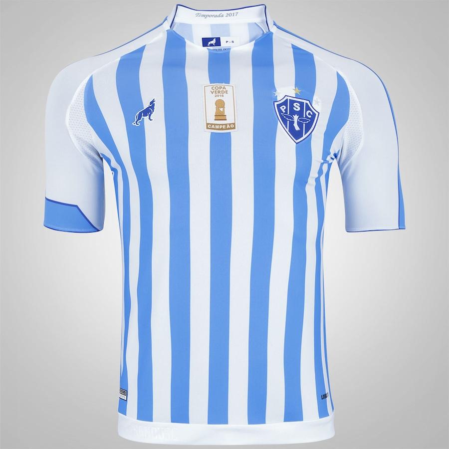 Camisa do Paysandu I 2017 nº 7 Lobo - Masculina 2e6b7dfc8d240