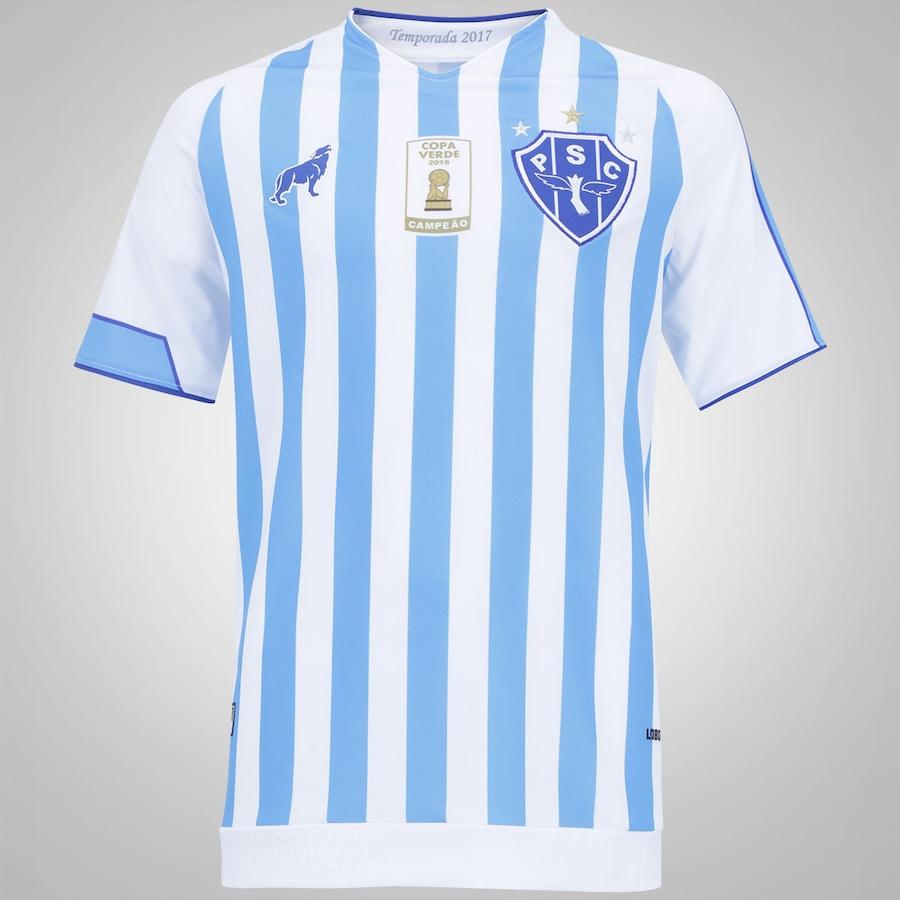 5a38cf5454 Camisa do Paysandu I 2017 nº 7 Lobo - Infantil